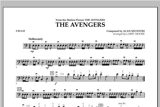 The Avengers (Main Theme) - Cello Sheet Music