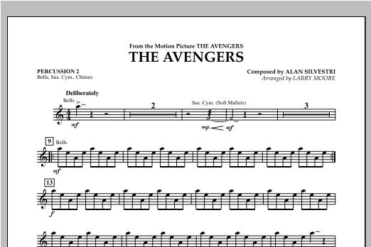 The Avengers (Main Theme) - Percussion 2 Sheet Music