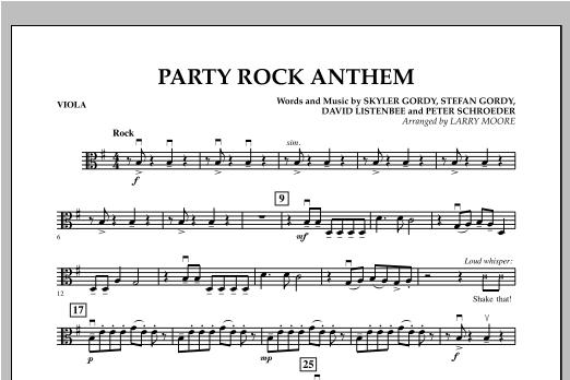 Party Rock Anthem - Viola Sheet Music