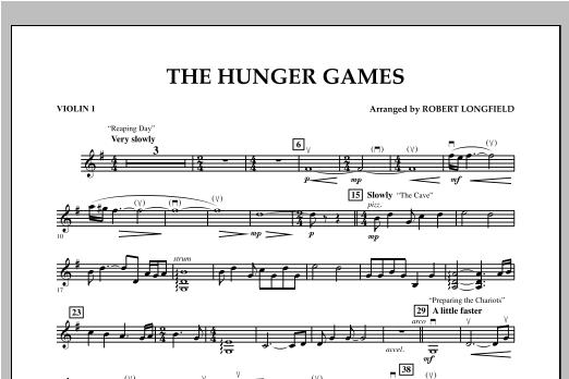 The Hunger Games - Violin 1 Sheet Music