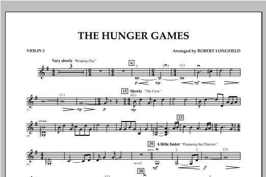 The Hunger Games - Violin 2 Sheet Music