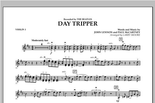 Day Tripper - Violin 1 Sheet Music
