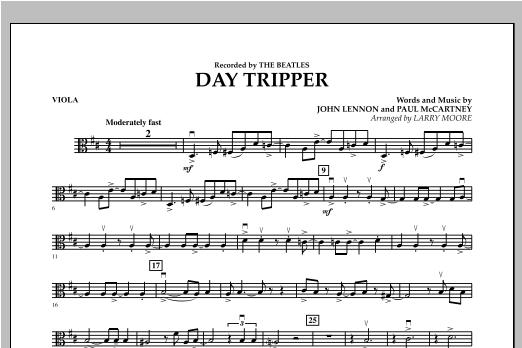 Day Tripper - Viola Sheet Music