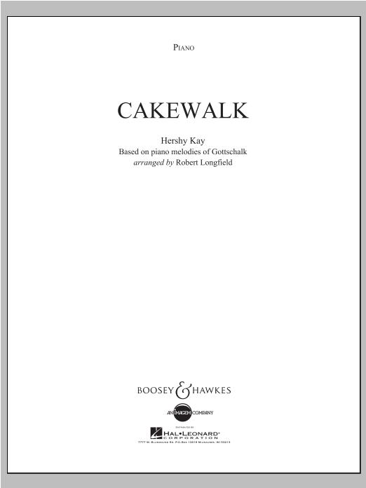 Cakewalk - Piano Sheet Music