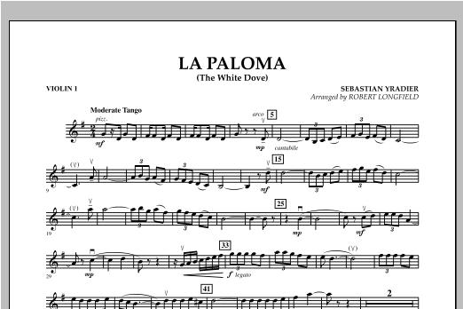 La Paloma (The White Dove) - Violin 1 Sheet Music