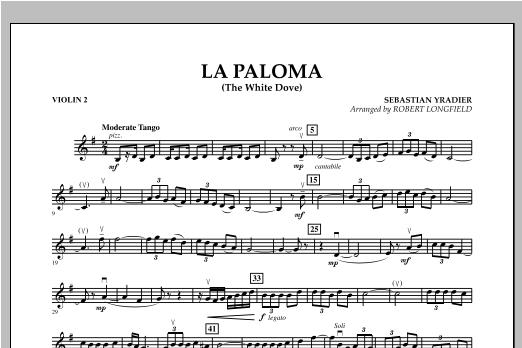 La Paloma (The White Dove) - Violin 2 Sheet Music