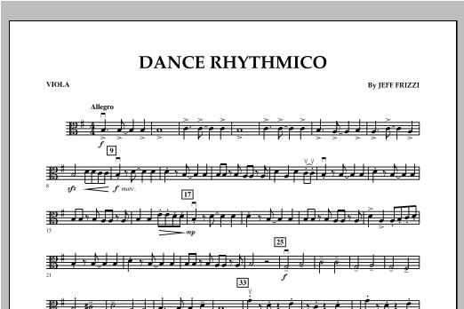 Dance Rhythmico - Viola Sheet Music
