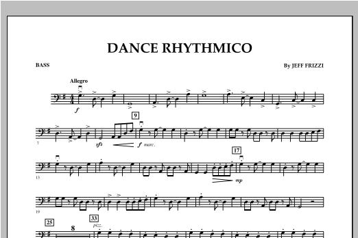 Dance Rhythmico - Bass Sheet Music