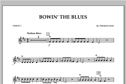 Bowin' The Blues - Violin 1 (Orchestra)