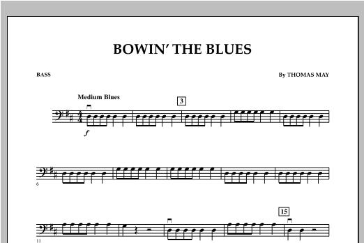Bowin' The Blues - Bass Sheet Music