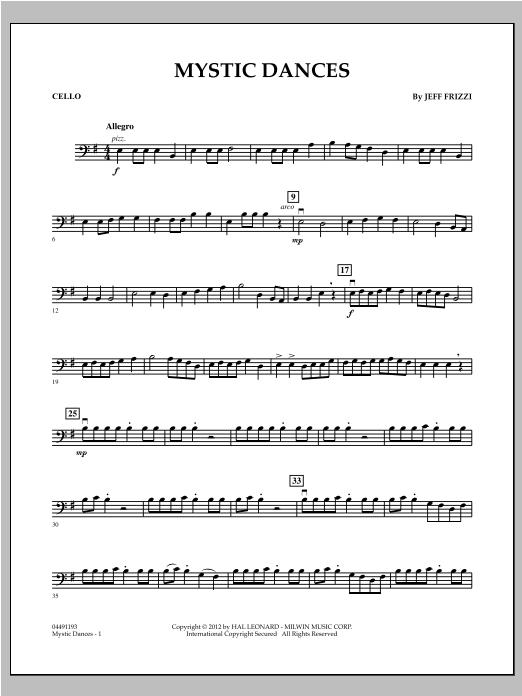 Mystic Dances - Cello (Orchestra)