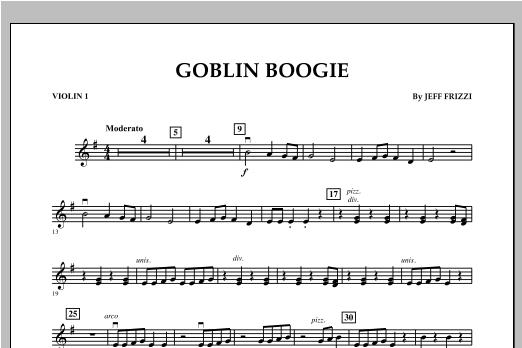 Goblin Boogie - Violin 1 Sheet Music