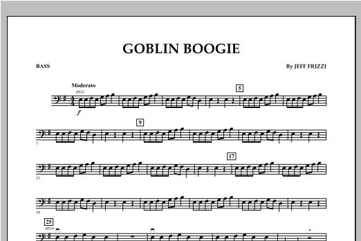 Goblin Boogie - String Bass Sheet Music