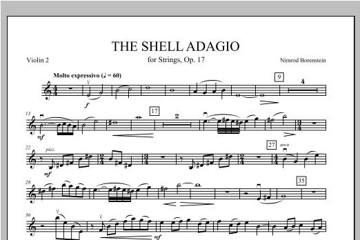 The Shell Adagio - Violin 2 Sheet Music