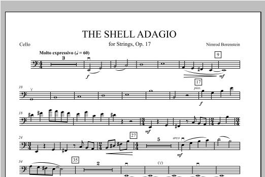 The Shell Adagio - Cello Sheet Music