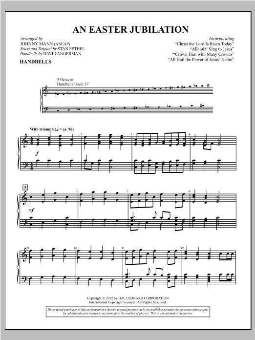 An Easter Jubilation Sheet Music