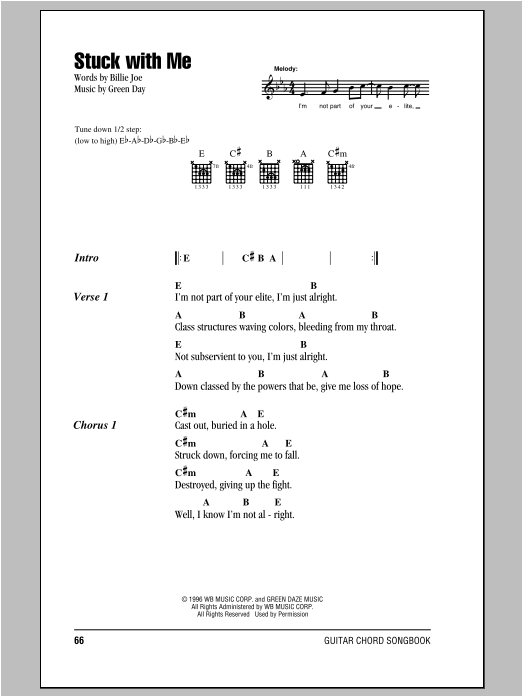 Stuck With Me Sheet Music