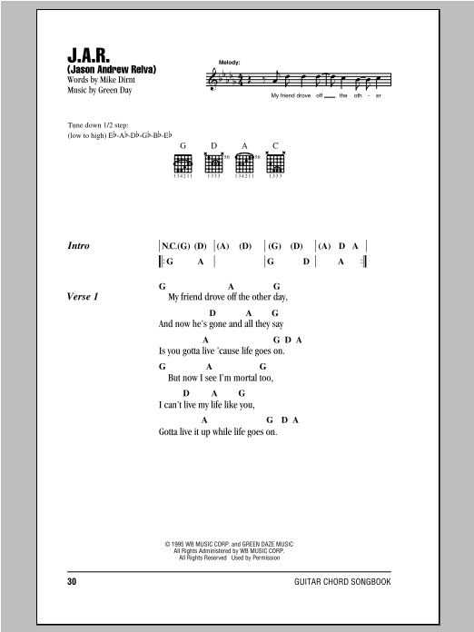 J.A.R. (Jason Andrew Relva) Sheet Music