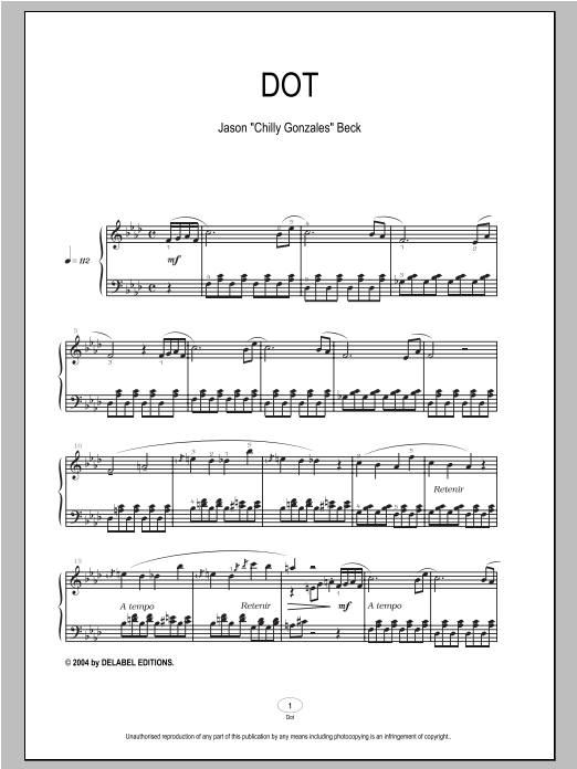 Dot Sheet Music