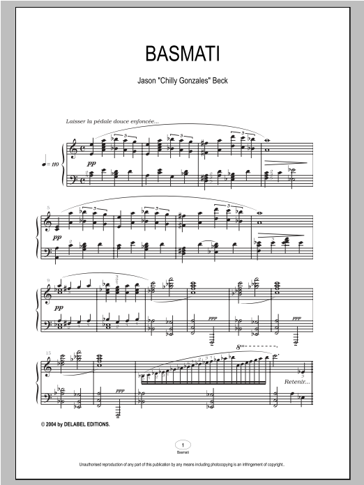 Basmati Sheet Music