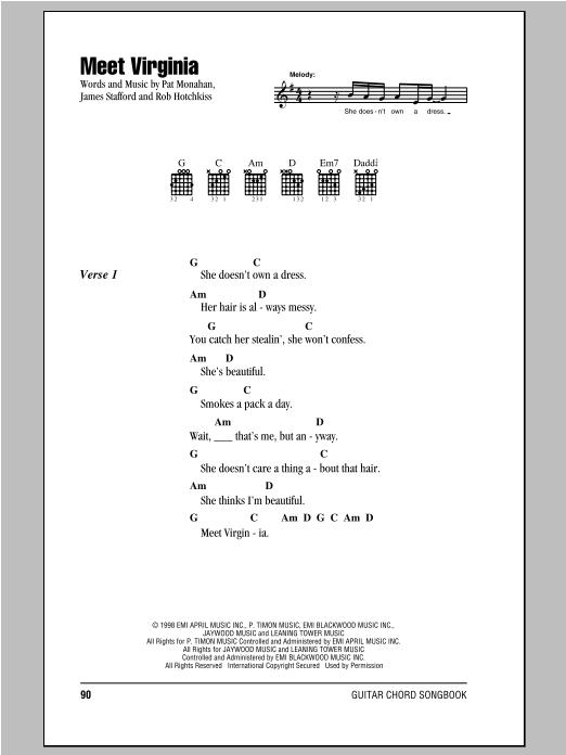 Meet Virginia Sheet Music