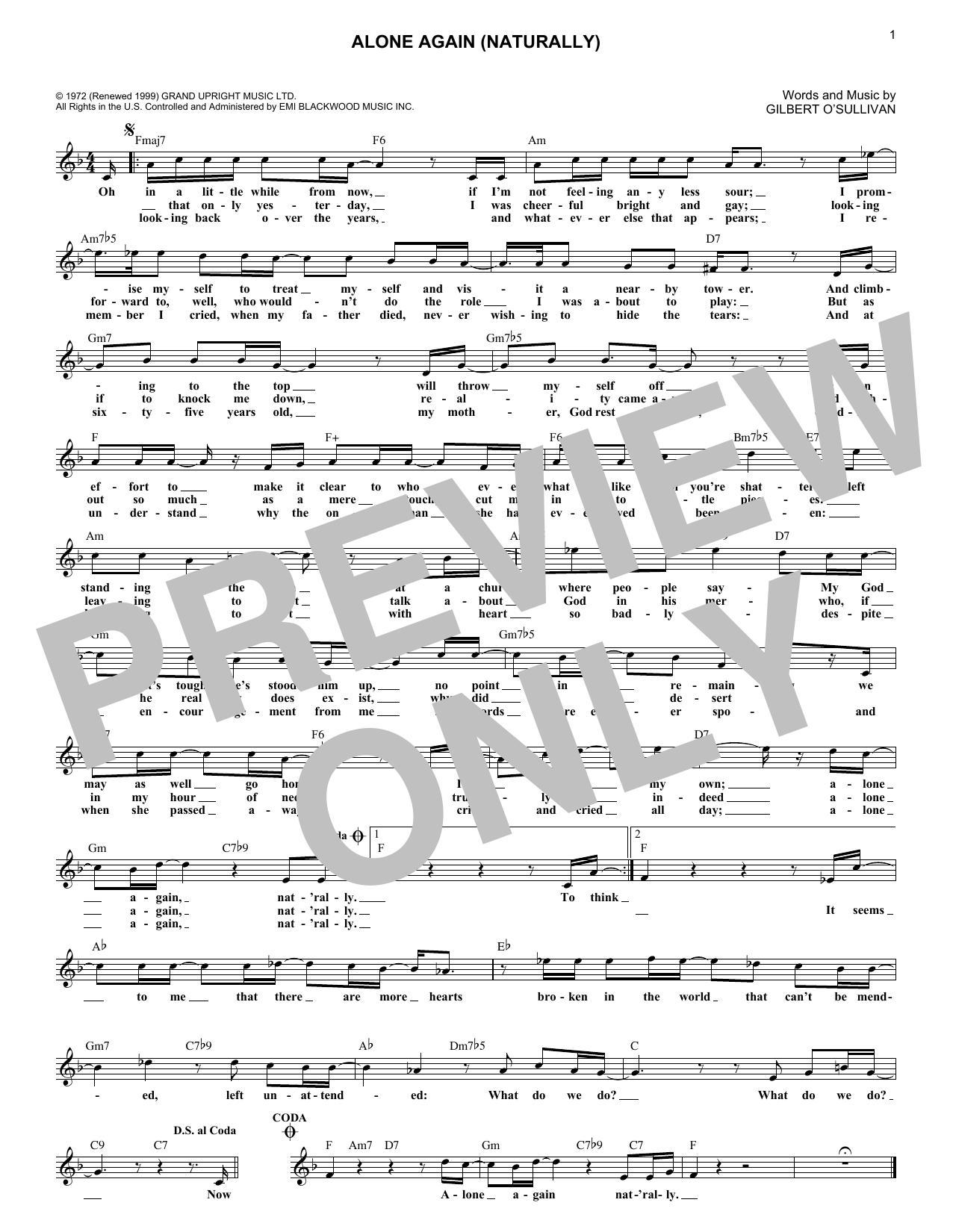 Sheet Music Digital Files To Print - Licensed Gilbert O