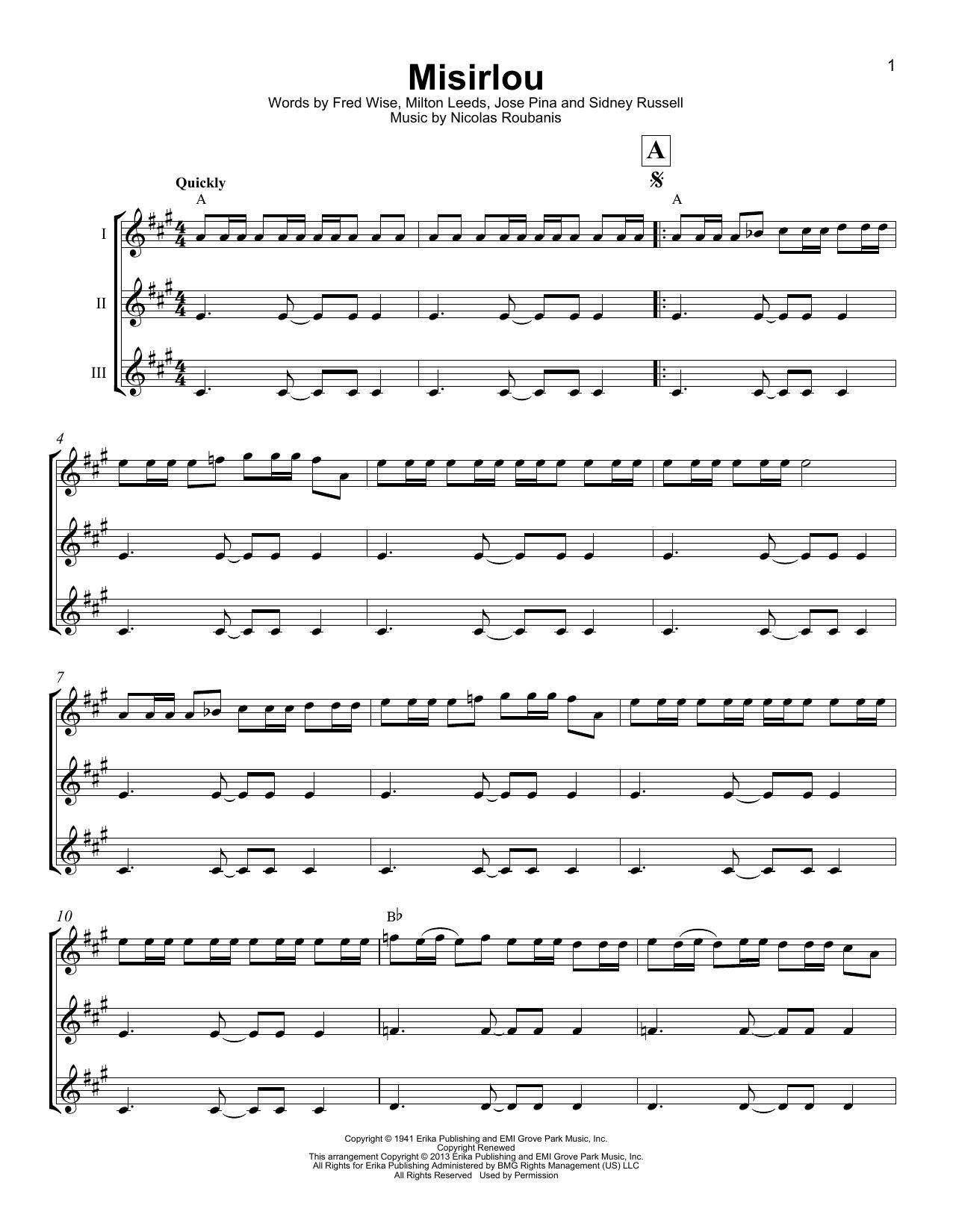 Misirlou (Ukulele Ensemble)
