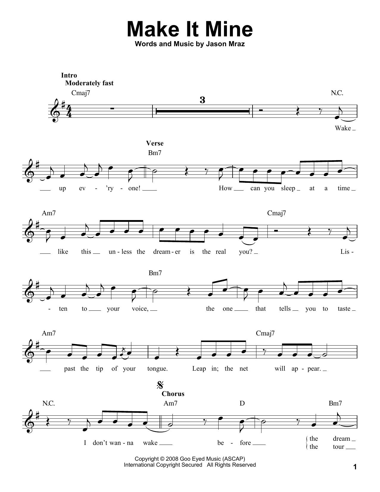 Make It Mine (Pro Vocal)