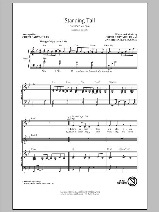 Standing Tall Sheet Music