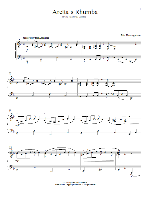 Composer's Choice - Eric Baumgartner - Early to Mid-Intermediate Level by Eric Baumgartner