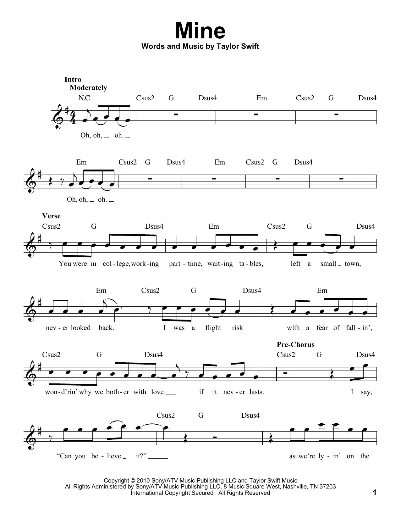 Mine (Pro Vocal)
