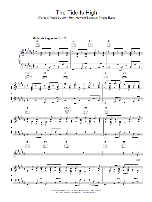 Reggae Music at Stanton\'s Sheet Music