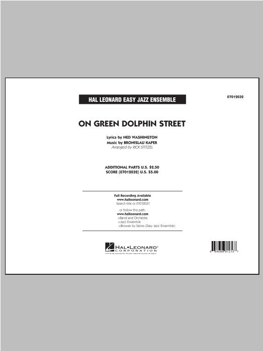 On Green Dolphin Street - Conductor Score (Full Score) Sheet Music