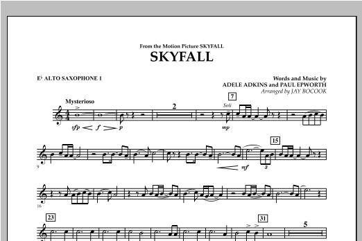 Skyfall - Eb Alto Saxophone 1 Sheet Music