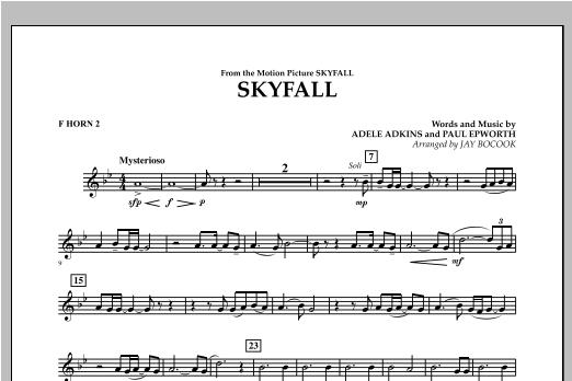 Skyfall - F Horn 2 Sheet Music