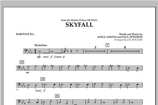 Skyfall - Baritone B.C. Sheet Music