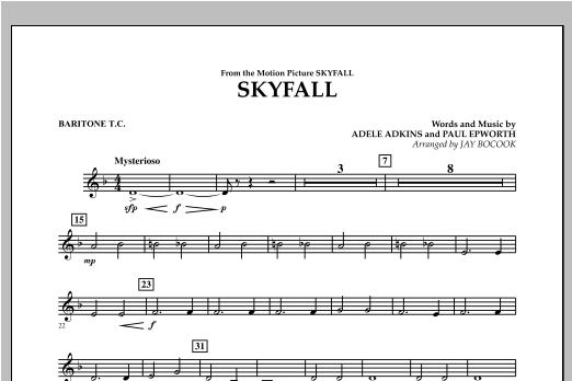 Skyfall - Baritone T.C. (Concert Band)