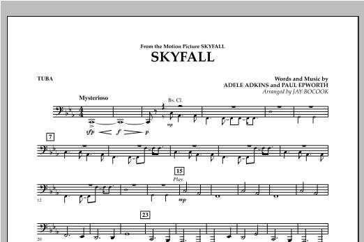 Skyfall - Tuba (Concert Band)