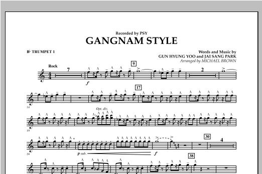 Gangnam Style - Bb Trumpet 1 Sheet Music