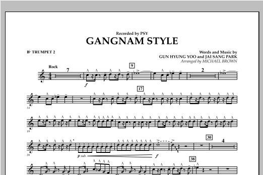 Gangnam Style - Bb Trumpet 2 Sheet Music