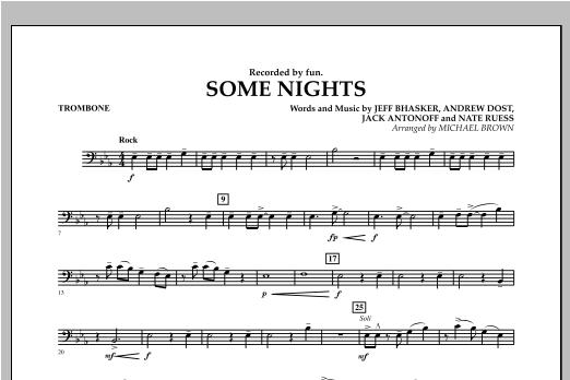 Some Nights - Trombone Sheet Music