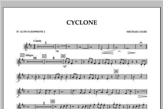 Cyclone - Eb Alto Saxophone 2 Sheet Music