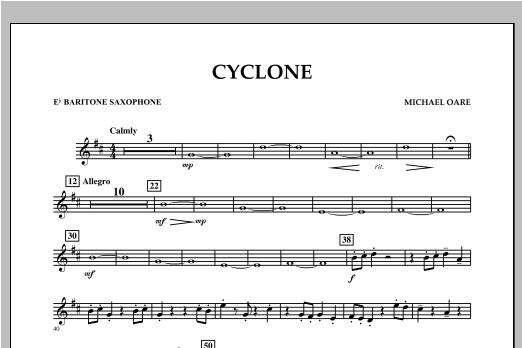 Cyclone - Eb Baritone Saxophone Sheet Music