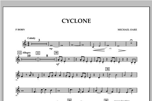 Cyclone - F Horn Sheet Music