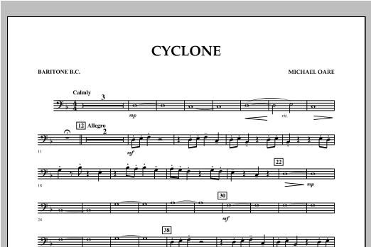 Cyclone - Baritone B.C. Sheet Music