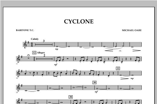 Cyclone - Baritone T.C. Sheet Music