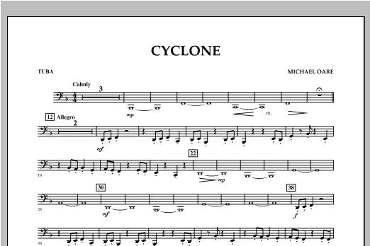 Cyclone - Tuba Sheet Music