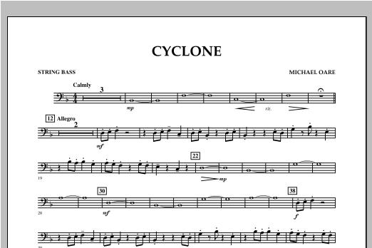 Cyclone - String Bass Sheet Music
