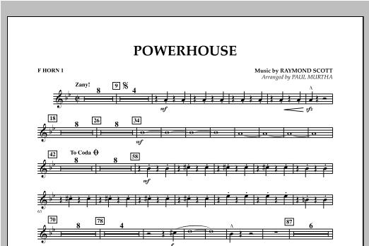 Powerhouse - F Horn 1 Sheet Music
