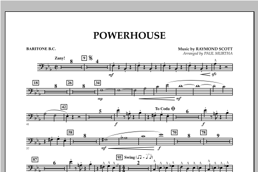 Powerhouse - Baritone B.C. Sheet Music